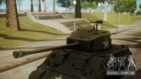 M4A3(76)W HVSS Sherman para GTA San Andreas vista direita
