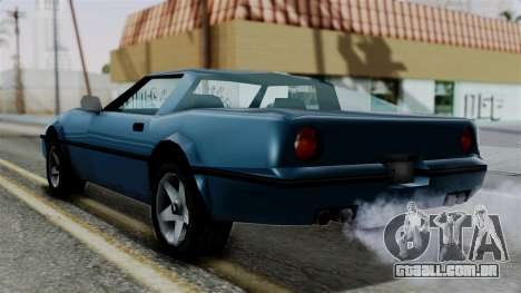 Banshee from Vice City Stories para GTA San Andreas esquerda vista