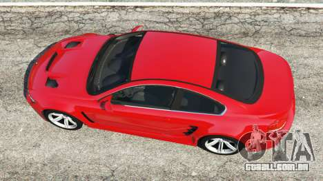 GTA 5 BMW M6 (E63) WideBody v0.1 [red] voltar vista