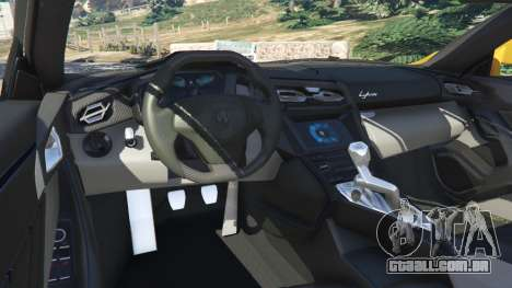 Lykan HyperSport 2014 v1.2 para GTA 5