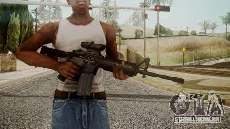 M4 by catfromnesbox para GTA San Andreas terceira tela