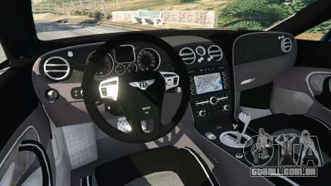 GTA 5 Bentley Continental Supersports [Beta2] traseira direita vista lateral