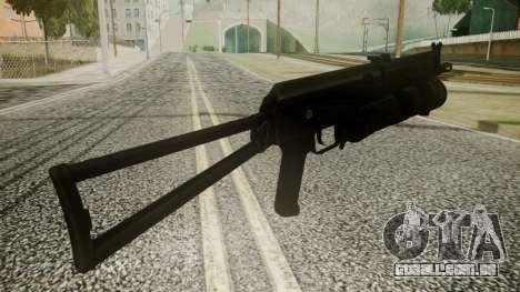 PP-19 Battlefield 3 para GTA San Andreas terceira tela