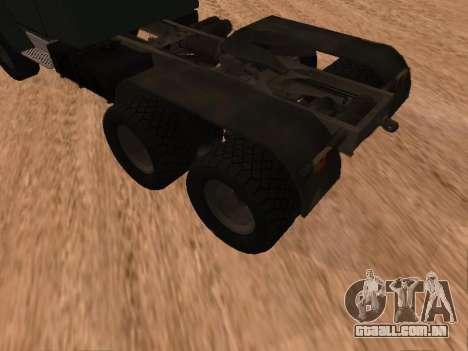 ZIL-133 05A para GTA San Andreas vista direita