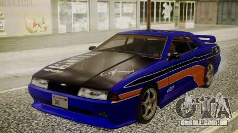 Elegy NR32 with Neon Exclusive PJ para GTA San Andreas vista traseira