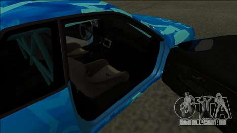 Nissan Skyline R32 Drift Blue Star para GTA San Andreas traseira esquerda vista