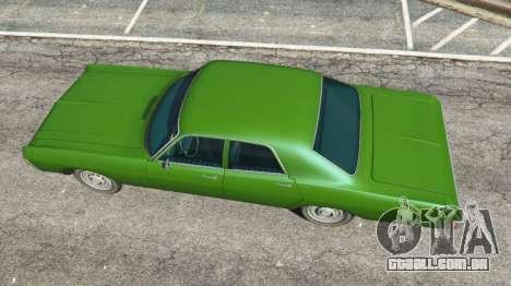 GTA 5 Dodge Polara 1971 v1.0 voltar vista