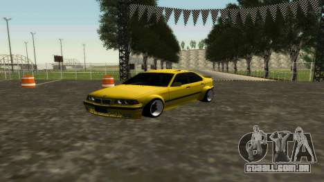 BMW 320i E36 Wide Body Kit para GTA San Andreas