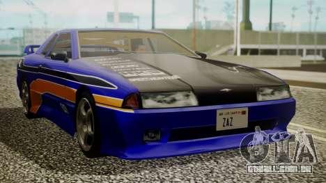 Elegy NR32 with Neon Exclusive PJ para GTA San Andreas