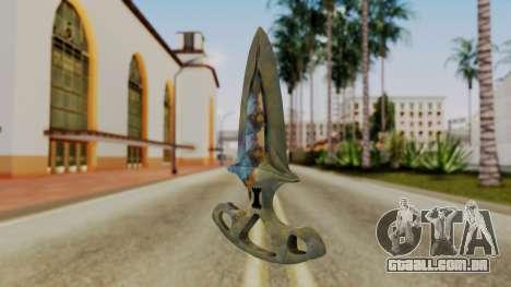 Sombra Punhal endurecimento da Superfície para GTA San Andreas