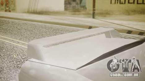 Elegy NR32 without Neon para GTA San Andreas vista direita