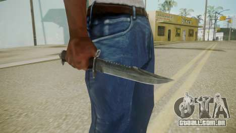 Atmosphere Knife v4.3 para GTA San Andreas terceira tela