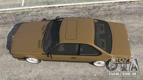 GTA 5 BMW M635 CSI (E24) 1986 voltar vista