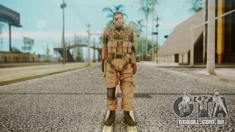 Venom Snake Golden Tiger para GTA San Andreas segunda tela