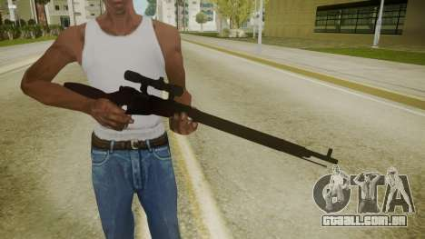 Atmosphere Sniper Rifle v4.3 para GTA San Andreas terceira tela