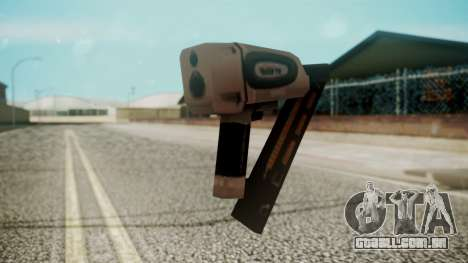 Nail Gun from Resident Evil Outbreak Files para GTA San Andreas segunda tela