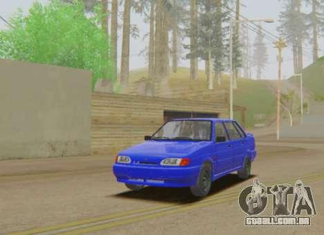 VAZ 2115 Escoamento para GTA San Andreas