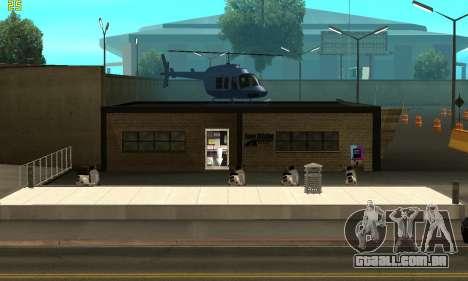 Substituição de texturas para a escola de Conduç para GTA San Andreas
