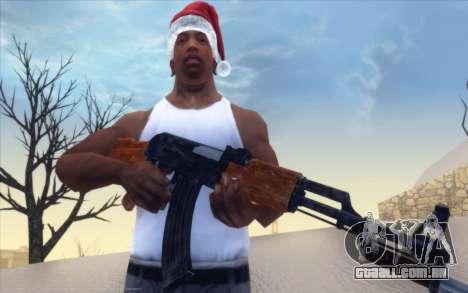 Realistic Weapons Pack para GTA San Andreas segunda tela