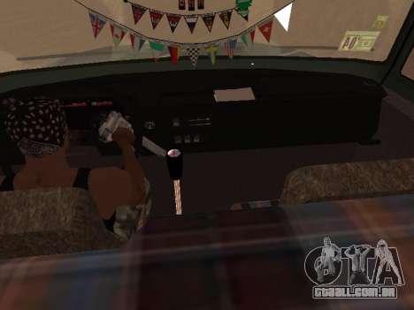 ZIL-133 05A para GTA San Andreas vista inferior