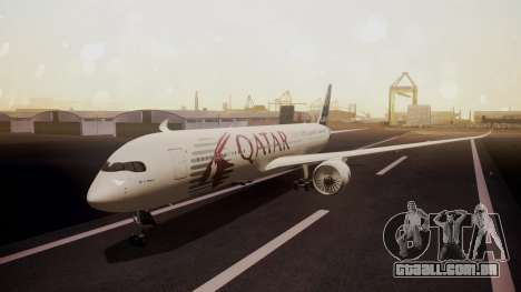 Airbus 350-900XWB Qatar Launch Customer para GTA San Andreas