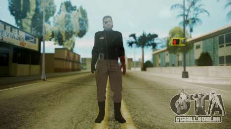 Venom Snake [Jacket] para GTA San Andreas segunda tela