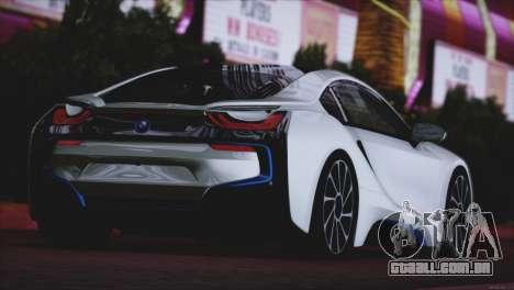 BMW i8 Coupe 2015 para GTA San Andreas vista direita