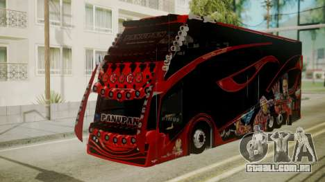 Bus Iron Man para GTA San Andreas