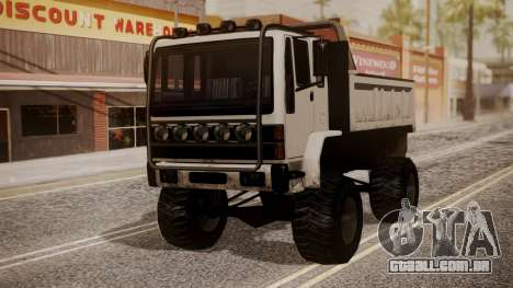 DFT Monster Truck 30 para GTA San Andreas