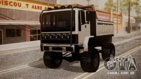DFT Monster Truck 30 para GTA San Andreas