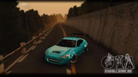 Toyota GT86 Customs Rocket Bunny para GTA San Andreas