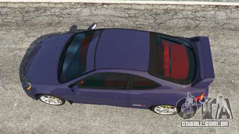 Honda Integra Type-R without license plate para GTA 5