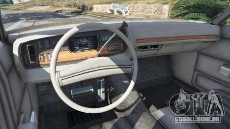 GTA 5 Dodge Polara 1971 v1.0 traseira direita vista lateral