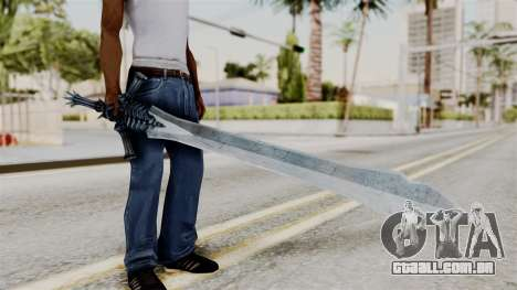 Katana from RE6 para GTA San Andreas
