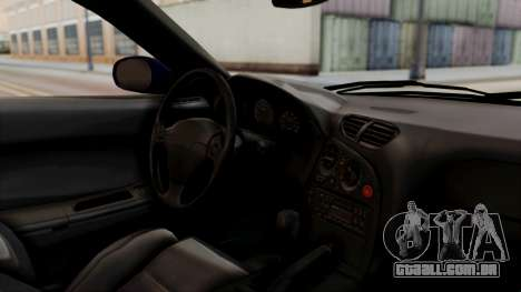 Mazda RX-7 Black Rock Shooter Itasha para GTA San Andreas vista direita
