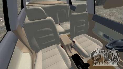 Daewoo Nubira I Spagon 1.8 DOHC 1998 para GTA 4 vista interior