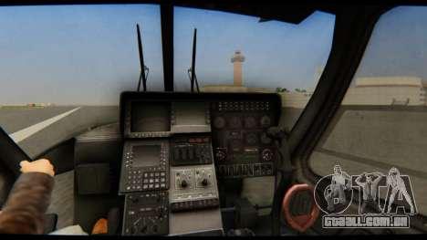 KA 60 Kasatka para GTA San Andreas vista traseira