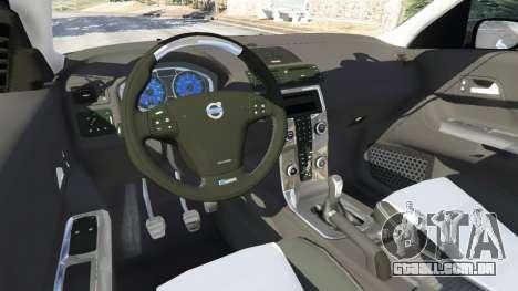 GTA 5 Volvo C30 T5 traseira direita vista lateral