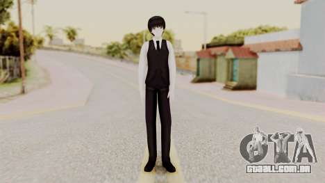 Kaneki Anteiku (Tokyo Ghoul) para GTA San Andreas segunda tela