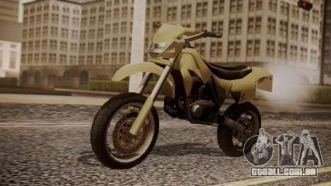 Sanchez SuperMoto para GTA San Andreas