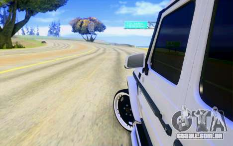 Mercedes-Benz G65 AMG para as rodas de GTA San Andreas