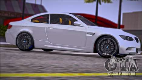 BMW M3 E92 2008 para o motor de GTA San Andreas