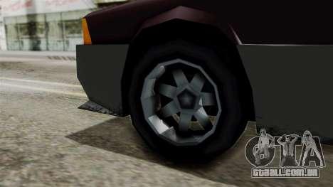 Blista Compact from Vice City Stories para GTA San Andreas traseira esquerda vista