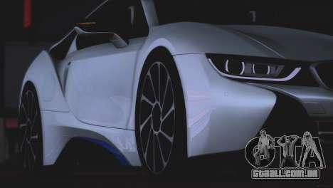 BMW i8 Coupe 2015 para GTA San Andreas vista interior