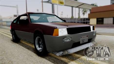 Blista Compact from Vice City Stories para GTA San Andreas vista direita