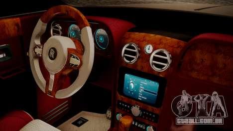 Rolls-Royce Ghost v1 para GTA San Andreas vista direita
