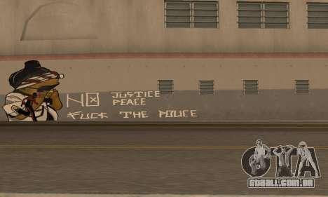 HooverTags para GTA San Andreas segunda tela