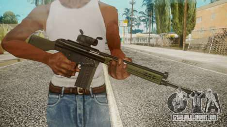 Rifle by EmiKiller para GTA San Andreas terceira tela