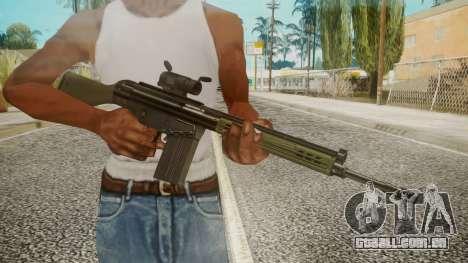 Rifle by EmiKiller para GTA San Andreas terceira tela