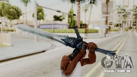 Katana from RE6 para GTA San Andreas terceira tela